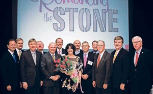 Kim Snyder, second from right, during an NSSGA board of directors meeting in 2012.
