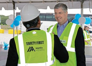 Ward Nye has been chairman of the board of Martin Marietta since 2014, and he has served as company president since 2006 and as CEO and a director since 2010. Photo courtesy of Martin Marietta
